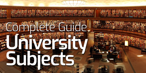 Complete British University Subjects Guide