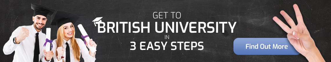 3 Easy Steps to Get to British University